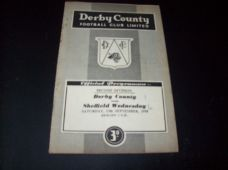 Derby County v Sheffield Wednesday, 1958/59
